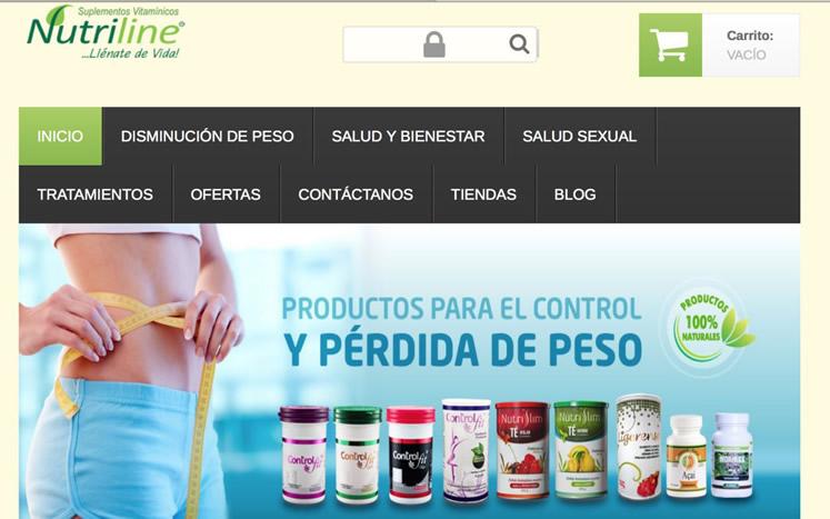 nutriline portafolio SE Agency